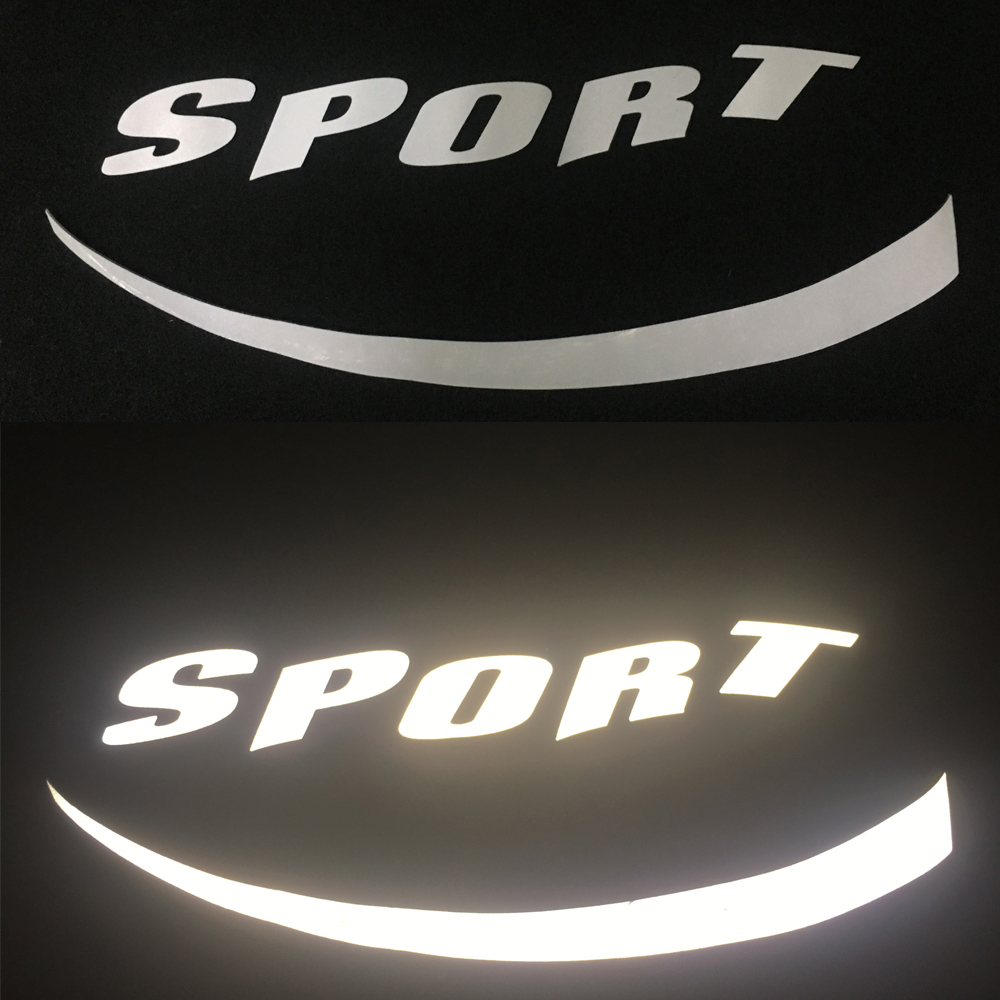 3D Reflective Sticker Car Tuning Accessories Car Tires Reflective Decal for BMW E90 E60 E46 E39 F34 F10 M Performance Hook Decor in Styling Mouldings from Automobiles Motorcycles