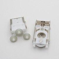 Möbel montage rad push-pull wand schrank garderobe hängende moving tür top unteren rad pulley Runner/Guide