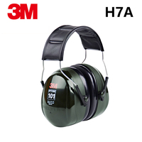 3M H7A Anti noise Earmuffs Professional Soundproof Ear muffs Headset Sound Insulation Hearing Protector for work sleep study
