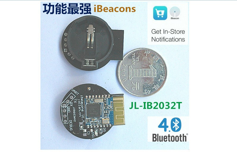 все цены на IBeacon module bluetooth 4.0 BLE near-field sensor positioning support онлайн