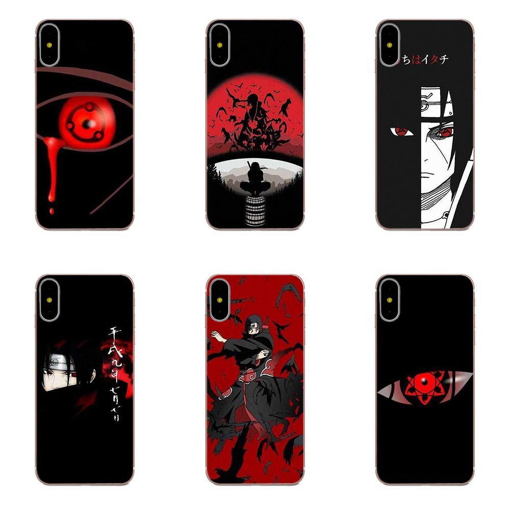 713f8b5ab06 Naruto Anime Black Background Fundas Phone Case Cover For Xiaomi Redmi Mi  Note 7 8 9 SE Pro Lite Go Play