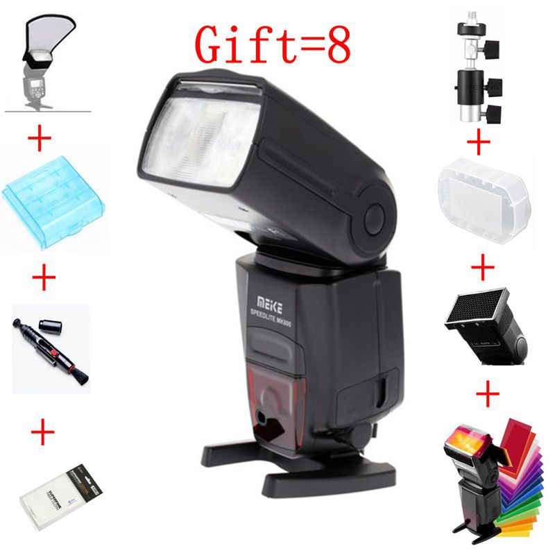 Meike MK-600 MK600 ETTL ETTL II HSS Speedlite for Canon Camera High Speed Sync Speedlight Flash Light for Canon DLSR Camera mini flash light meike mk320 mk 320 mk320 c gn32 ettl speedlite for can 60d 7d 6d 70d dslr
