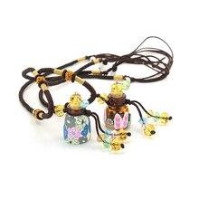 Circle Essential Oil Perfume Secret Bottle Necklaces&Pendants Aroma Perfume Diffuser Pendant Women Jewelry