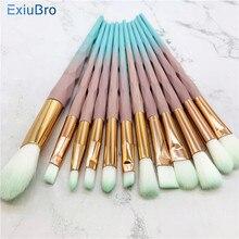 цены на Unicorn Eyeshadow Eyeliner Blending Crease Kit Makeup Brushes Make Up Foundation Eyebrow Eyeliner Blush Cosmetic Concealer Brush  в интернет-магазинах