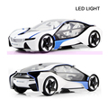 Free shipping 1:14 VED i8 Electric Remote Radio control RC Car Toys Vehicle Machines