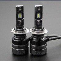 ANSHUDY RS Car H4 Bulb Led Headlights Modified HD Far and Near Light for Nissan H1 H7 9005 9006 12V