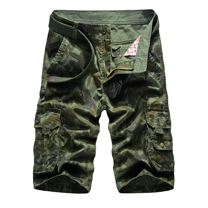 Aliexpress Hot Selling Cargo Multi Pockets Casual Masculino Pants Brand Men's Casual Camouflage Loose Cargo pants