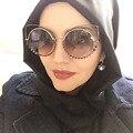 Afofoo moda mujeres cat eye sunglasses primera marca de lujo de cristal de diamante mujeres reflejan las gafas de sol uv400 shades gafas