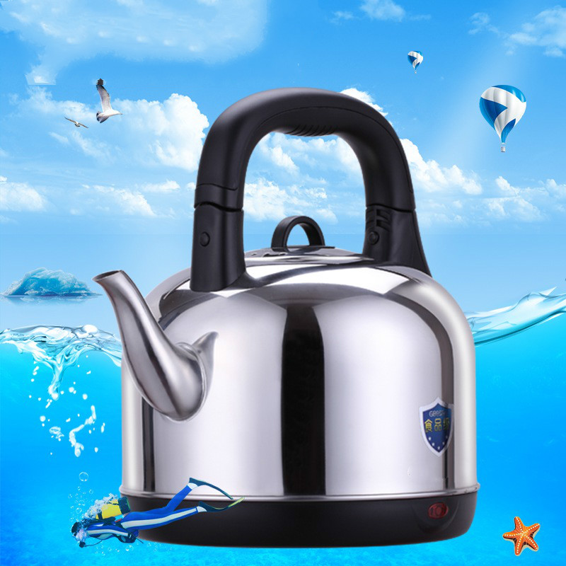 Large capacity automatic power failure household 304 stainless steel electric heating kettle 4.2L Safety Auto-Off Function cukyi stainless steel 1800w electric kettle household 2l safety auto off function quick heating red gold