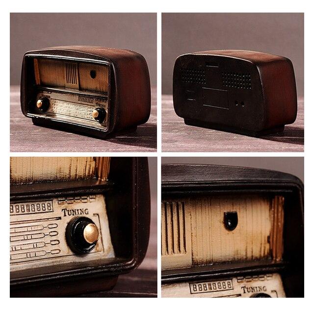 Europe style Resin Radio Model 3