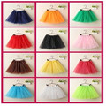 Spring Summer Lovely Ball Gown Lace Mesh Baby Tutu Skirt Ballet Dance Mini Girls Skirts 1-6Y Children Clothing Tutu Pettiskirt