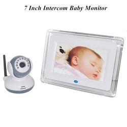 7 Cal wyświetlacz LCD 2.4 Ghz interkom bezprzewodowy dla dzieci Montor