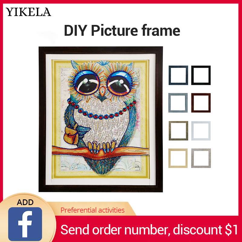 5D DIY Diamond Painting 30x40cm Photo Frame Cross Stitch Handmade Wholesale Decorative Dropshipping