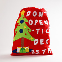 Large XMAS Cute Stocking Creative Fabrics Gift Bag Candy Gifts Holder Christmas Ornament Xmas Best Gift
