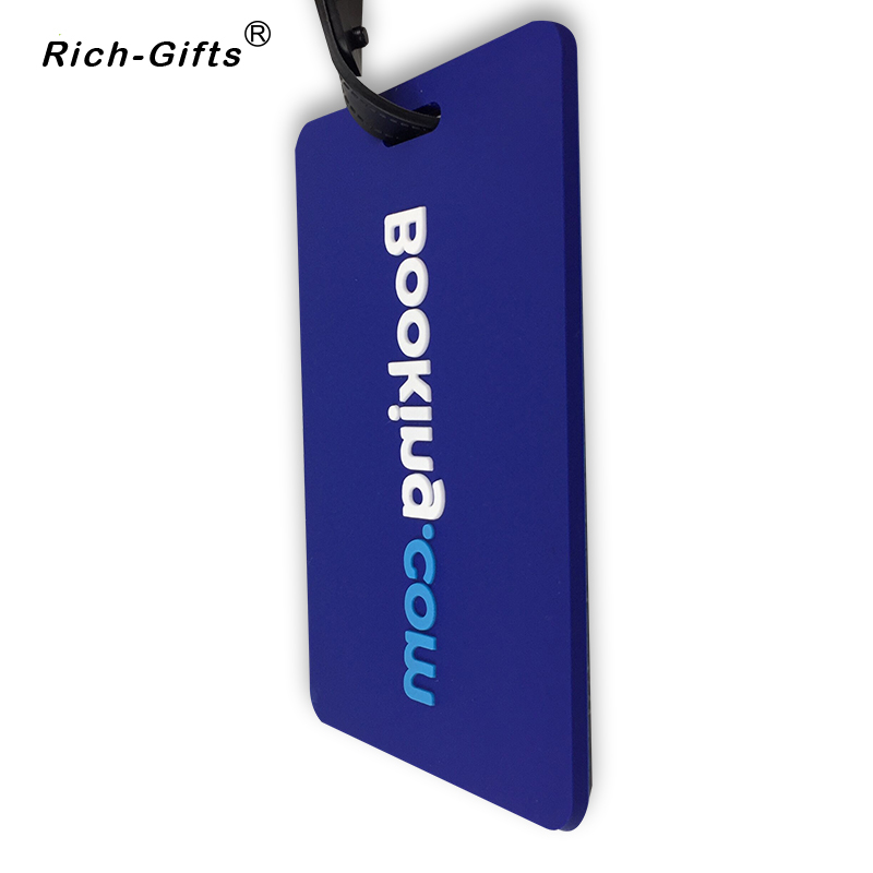 Soft PVC Luggage Tags booking letter custom logo available in Fridge Magnets from Home Garden