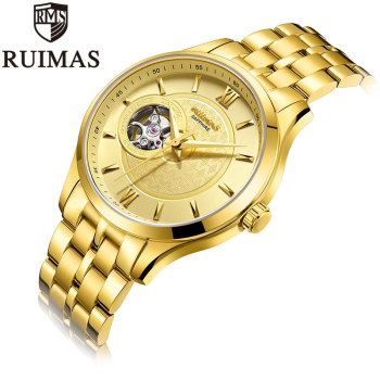 Ruimas golden Watch Automatic 3N3