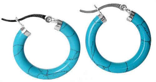การจัดส่งสินค้า> >>>ใหม่ที่มีเสน่ห์925ที่มีสีฟ้าสีเขียวขุ่นต่างหู