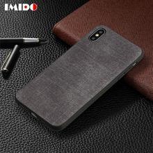 Retro Classic Fabric Phone Case For iPhone XSMAX XR XS X 8 7 6 6S Plus Denim Soft TPU Back Cover For iPhone 7 Plus Coque Fundas цены