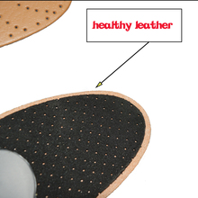 EXPfoot High quality Leather orthotics Insole for Flat Foot Arch Support 25mm orthopedic Silicone Insoles for men and women 25