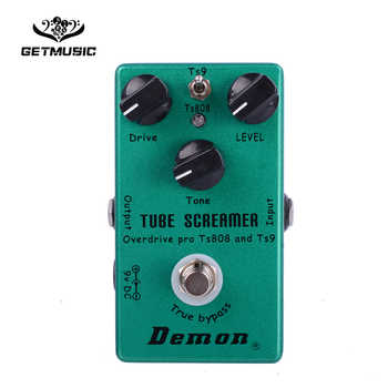 Demon TS808 Tube Screamer Overdrive Pro Vintage Electric Guitar Effect Pedal - DISCOUNT ITEM  35% OFF All Category
