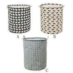 Cesta impermeable de lona para ropa sucia impresión juguete para regalo organizador de lavandería bolsa cestas de Picnic barriles de almacenamiento 5,16
