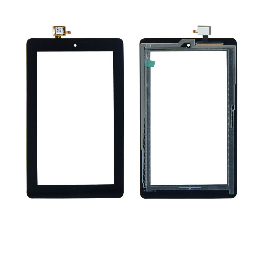 Free Shipping For Amazon Kindle Fire 7 5TH 5 Gen SV98LN  Digitizer Touch Screen Tablet Panel Replacement Repair Parts