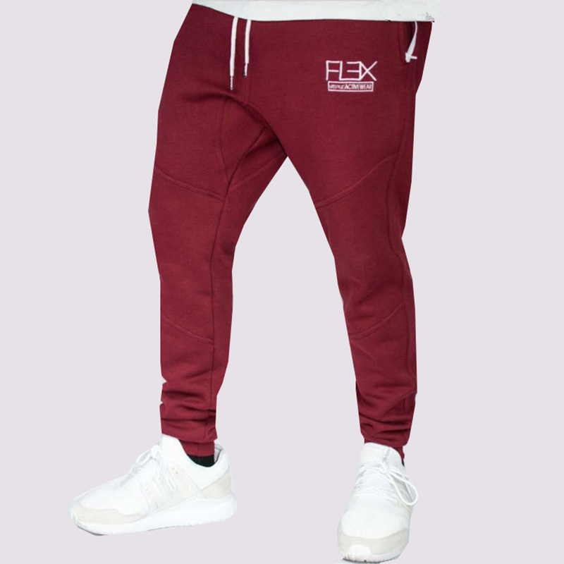 2018 men's new fashion casual fitness spring and autumn trousers