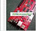 Xixun с10 полноцветный из светодиодов знак дисплей асинхронный полноцветный контроллер карта 1024 x 64 пикселей