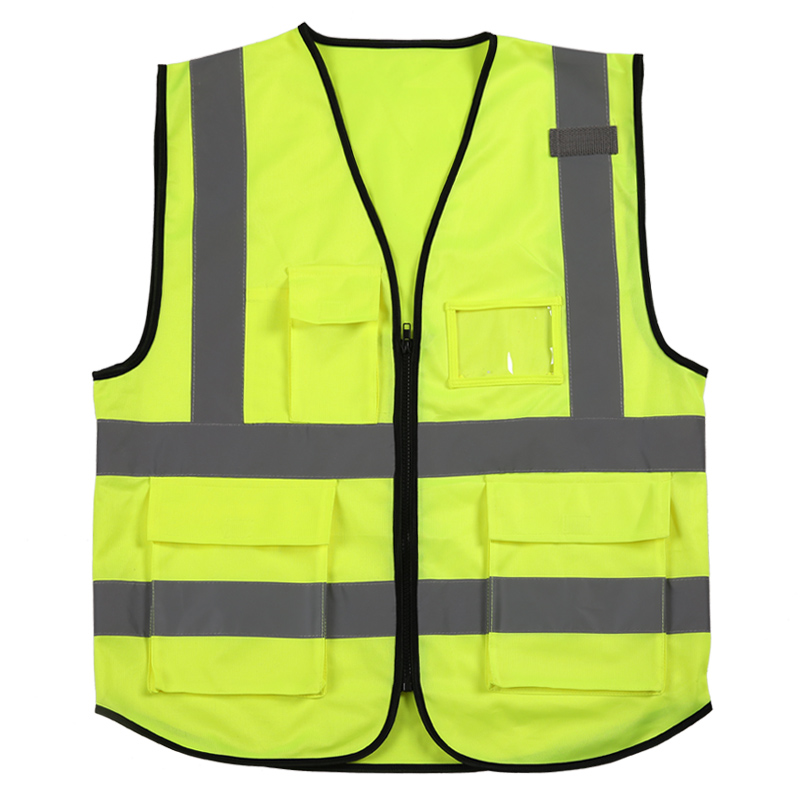 High Visibility Safety Reflective Vest Night Work Security Traffic Cycling Security Equipment Work ClothingHigh Visibility Safety Reflective Vest Night Work Security Traffic Cycling Security Equipment Work Clothing