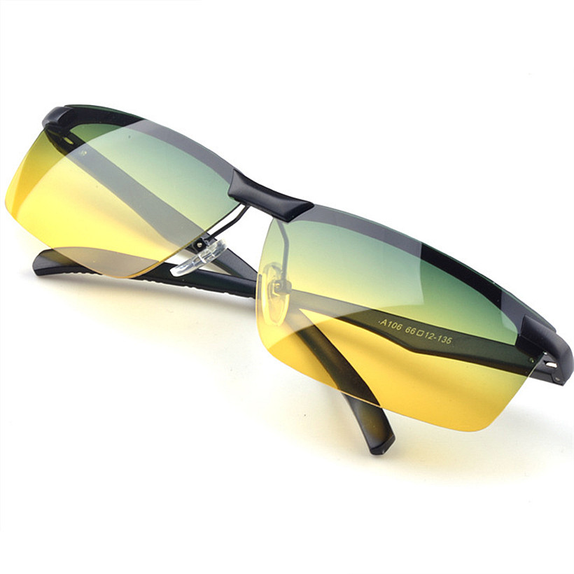 oakley night driving glass  polarized sunglasses yellow night vision goggles mens car driving glasses anti