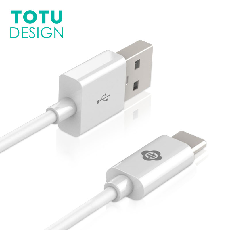 TOTU USB Type C Cable 2.1A Fast Charging Data Type-C Charger For Xiaomi Oneplus 2 ZUK Z2 NEXUS USB-C