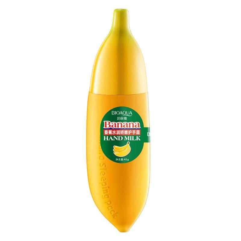 40g Banana Milk Hand Cream Moisturizing Nourish Anti-chapping Hand Care Lotions Handcream Skin Care