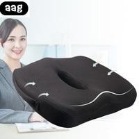 comfort Orthopedic Chair Seat Cushion Memory Foam Non Slip home office car seat Cushion for Tailbone Sciatica back Pain relief