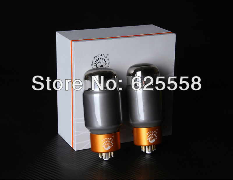 Matched Pair Psvane 6CA7-T Mark II Vacuum Tube New psvane 805a hi fi series vacuum tube boxed matched pairs