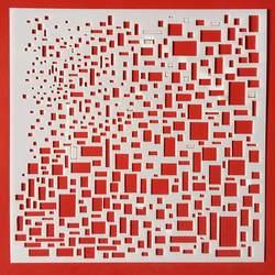 Горячие 13 см квадратный Texture Block DIY наслоения Трафареты настенная живопись записки окраска тиснильный альбом декоративная открытка шаблон