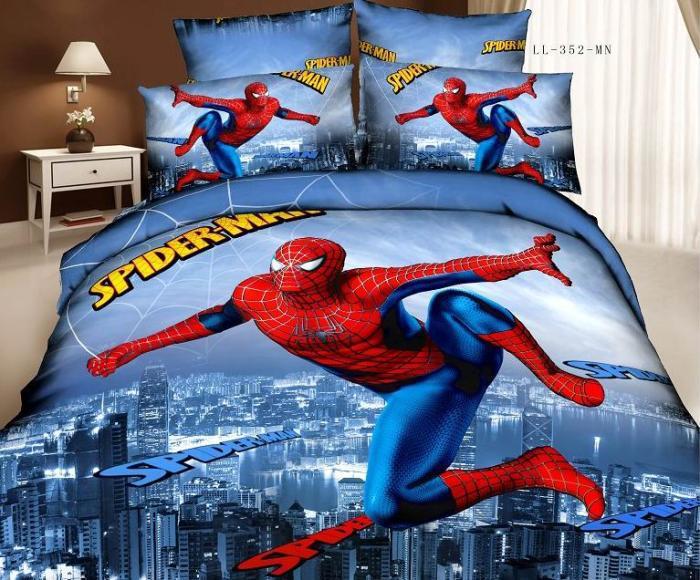 Aliexpress Com Buy 3d Spiderman Batman Cartoon Boys Kids