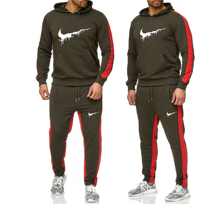2019 males's swimsuit sportswear new trend hoodie + pants sportswear hoodie spring and autumn model clothes hoodie sports activities swimsuit Hoodies & Sweatshirts, Low-cost Hoodies & Sweatshirts, 2019 males's...