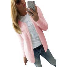CharmDemon New Arrival Women Fashion Warm Solid Slim Jacket Coat Cardigan nr16