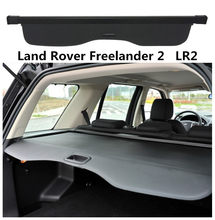 For Land Rover Freelander 2 LR2 2006-2018 Rear Trunk Security Shield Cargo Cover High Qualit Auto Accessories Black Beige(China)