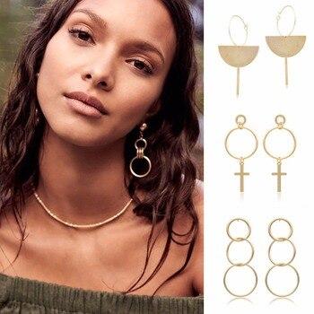 Women Design Hoop Earring Fashion Jewelry 1