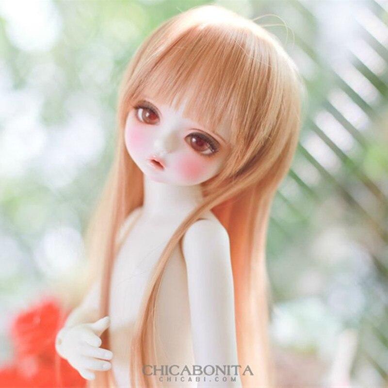 Free Shipping bjd / sd doll baby girl CHICABONITA Karen Doll 1/4 volks free eyes