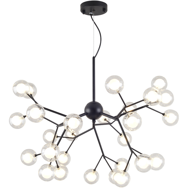 Nordic Loft Art Tree Branch Chandeliers Warm Home Dining Room Lights Coffee Shop Bar Led Hanging Light Fixtures Lighting nordic post modern denmark creative chandelier art crown bar coffee shop decoration light dining lights
