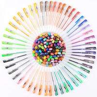 100 Color Set Gel Pen For Art Drawing Glitter Neon Metalli Drawing Color Pen For Child