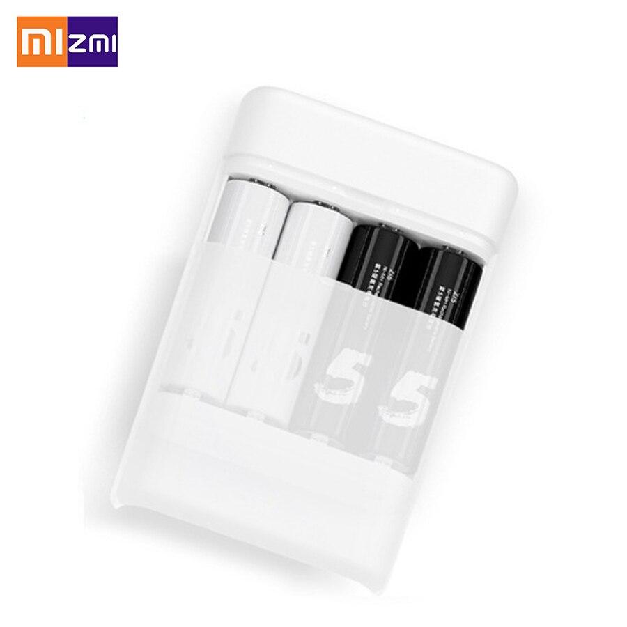 bilder für Xiaomi ZiMi ZI5 AA/AAA Ni-Mh KEINE. 5 Ladegerät USB Power Bank mit 4 Slots Tragbare USB Multifunktions Ladegerät