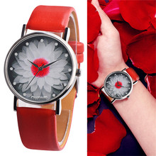 OKTIME Women and Men Watch Casual Leather Band Analog Buckle Quartz Wat