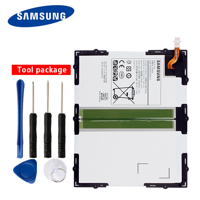 Original Samsung EB-BT585ABE Battery For Tab A 10.1 2016 BT580 SM-T585C 7800mAh