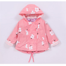 Baby Girl Coat Kids Girl Clothes  Infant Girls Coats High Quality Cotton Boutique Autumn and Winter Children's Toddler Coat