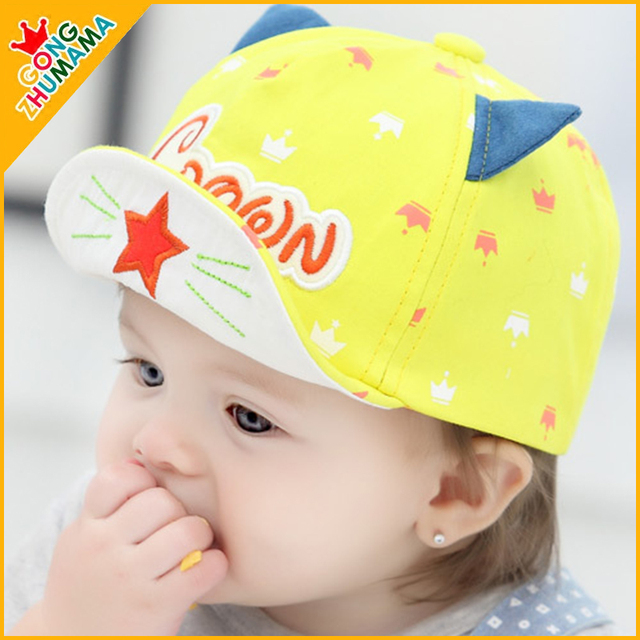 TDX C36 Baby spring and autumn hat baby cap 3 - 6 - 12 months old male  female baby hat child autumn cap baseball c1c794aae95