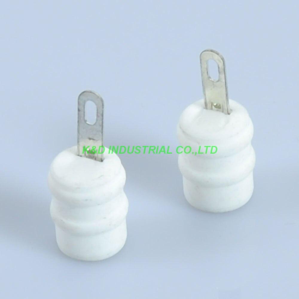 5 pcs Tomada Tubo de Vácuo de Cerâmica Válvula Cap Ânodo FU29 829 829B GU32 832 FU32