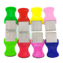 Pets Dogs Comb Nits Lice Pocket Pet Grooming Get Rid of Flea Pin Dog Cat Hair Shedding Supplies